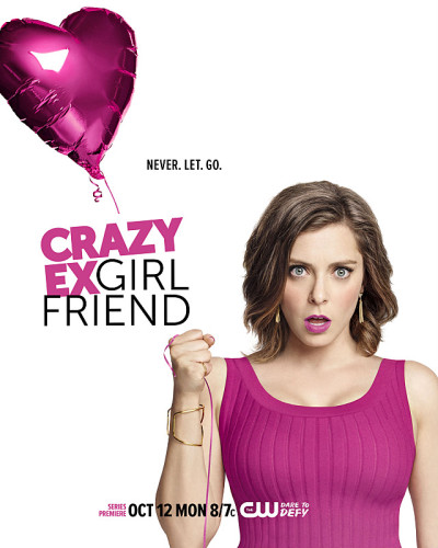 Crazy Ex-Girlfriend -- Image Number: CEG01_KeyArt.jpg -- Pictured: Rachel Bloom as Rebecca Bunch -- Photo: Jordon Nuttall/The CW -- © 2015 The CW Network, LLC. All rights reserved.
